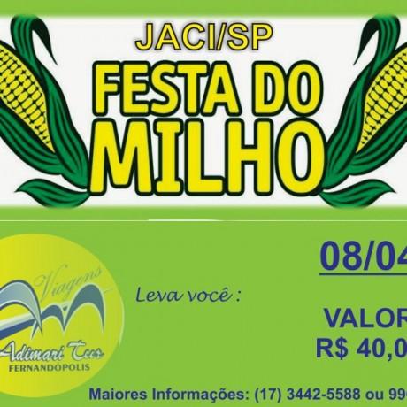 JACI/SP – FESTA DO MILHO